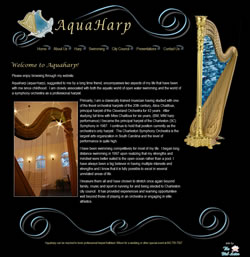 Aquaharp - Charleston, SC Harpist for Weddings and Other Events