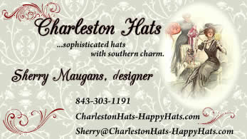 Charleston Hats Business Card